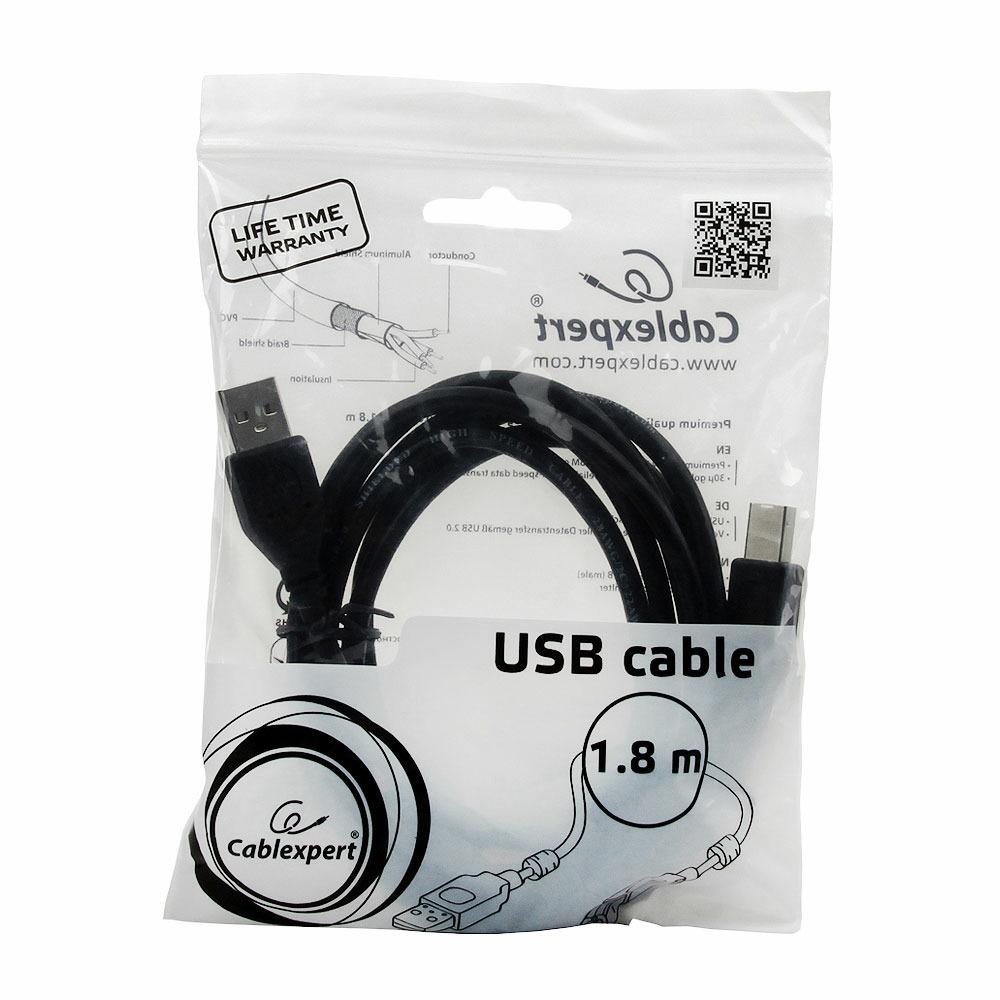 USB кабель Cablexpert CCF2-USB2-AMBM-6 1.8m