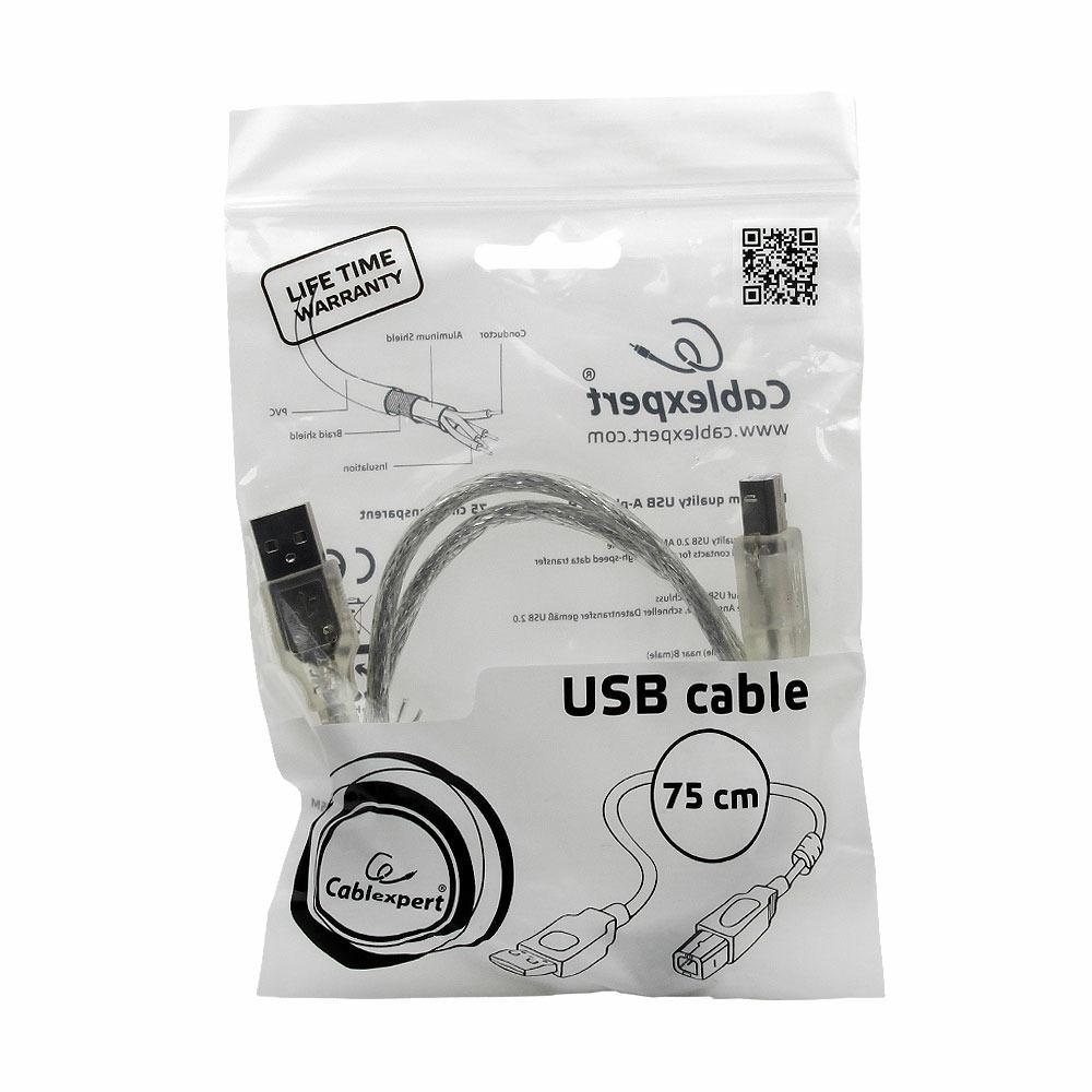USB кабель Cablexpert CCF-USB2-AMBM-TR-0.75M 0.75m