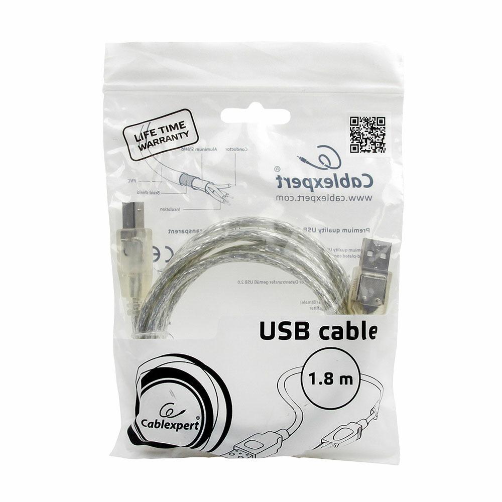 USB кабель Cablexpert CCF-USB2-AMBM-TR-6 1.8m