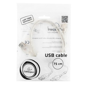 USB удлинитель Cablexpert CCF-USB2-AMAF-TR-0.75M 0.75m