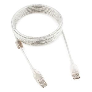 Удлинитель USB 2.0 Тип A - A Cablexpert CCF-USB2-AMAF-TR-15 4.5m