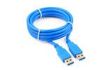 Кабель USB 3.0 Тип A - A Cablexpert CCP-USB3-AMAM-1M 1.0m