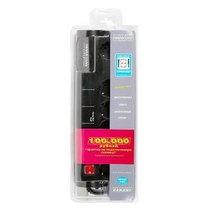 Сетевой фильтр Power Cube SISN-BLACK-10 3.0m