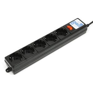 Сетевой фильтр Power Cube SPG-B-6-BLACK 1.9m