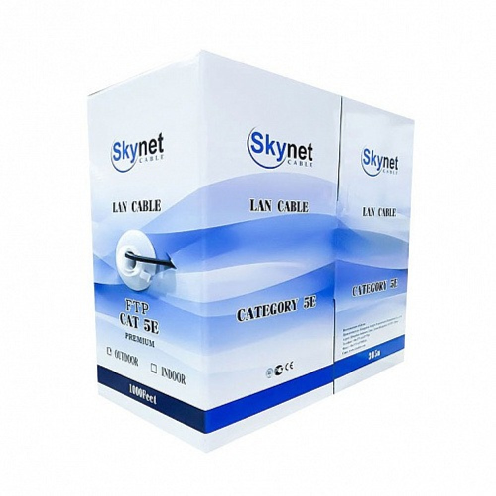 Витая пара в катушке экранированная SkyNet CSL-FTP-4-CU-OUT 305 м