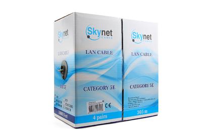 Витая пара в катушке не экранированная SkyNet CSP-UTP-4-CU 305 м