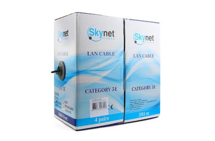 Витая пара в катушке не экранированная SkyNet CSP-UTP-4-CU-OUT 305 м