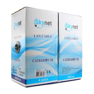 Витая пара в катушке экранированная SkyNet CSS-FTP-4-CU 305 м