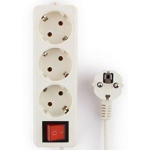 Удлинитель электрический Гарнизон EL-NB-G3-W-2 2.0m