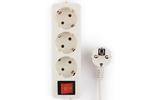 Удлинитель электрический Гарнизон EL-NB-G3-W-3 3.0m