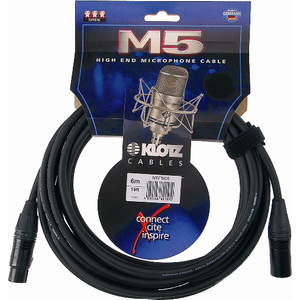 Кабель аудио 1xXLR - 1xXLR KLOTZ M5FM10 M5 10.0m