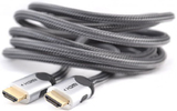 Кабель HDMI - HDMI MT Power 89508016 Silver HDMI v2.0 2.0m