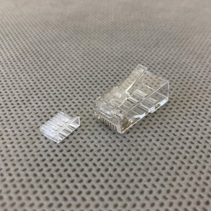 Разъем RJ-45 Hyperline PLUG-8P8C-UV-C6 (1 шт)
