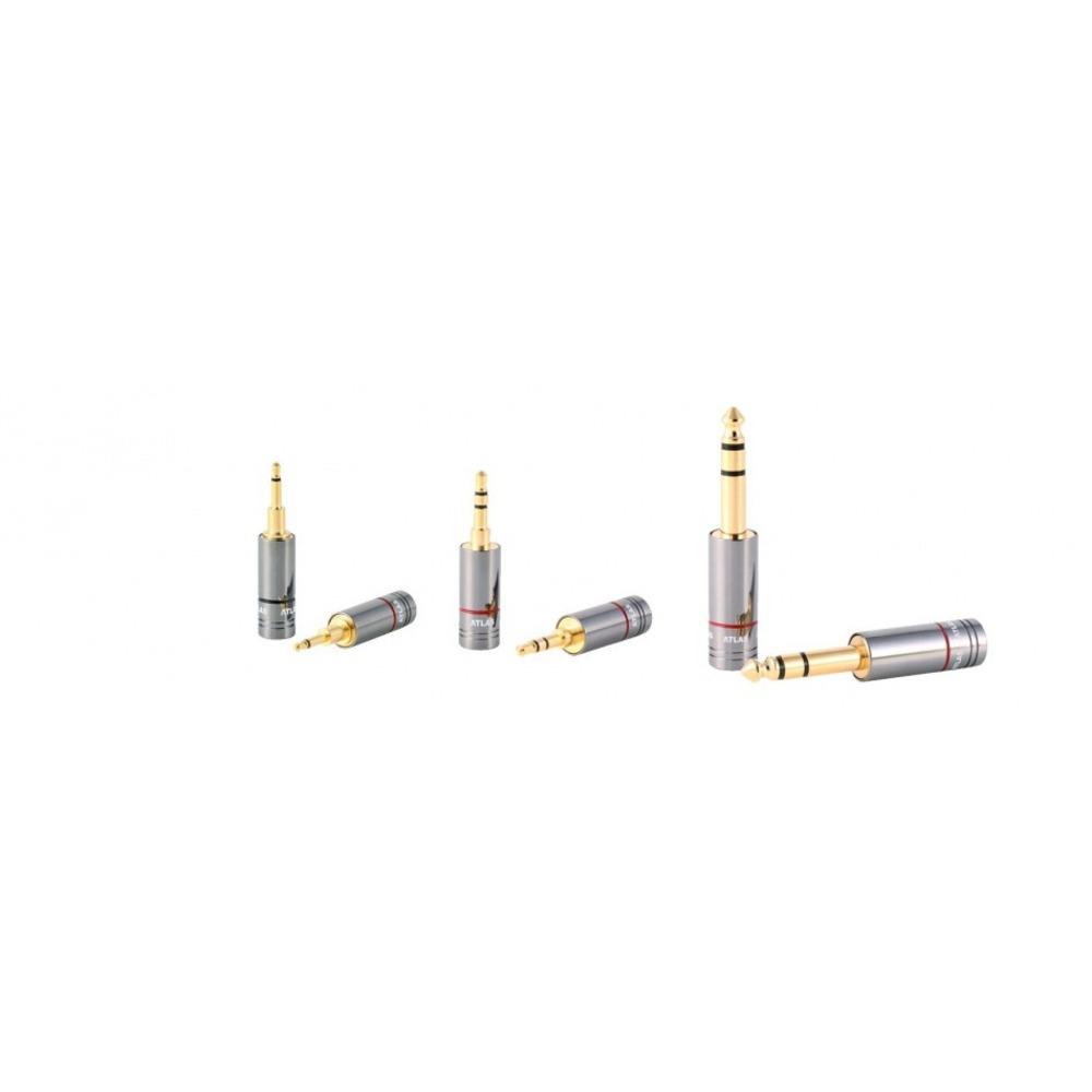 Разъем mini Jack 2.5mm (Mono) Atlas Cables Metik 2.5mm Jack Plug Black