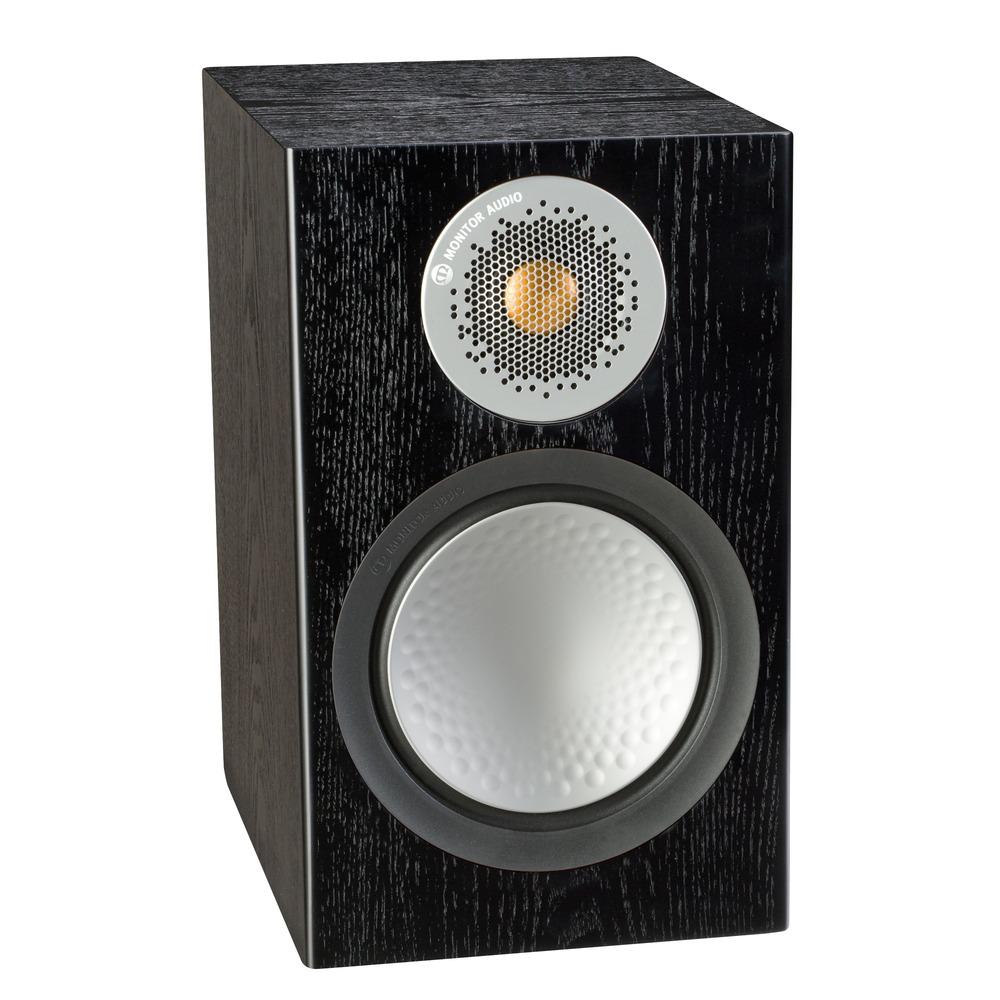 Колонка полочная Monitor Audio Silver 50 Black Oak