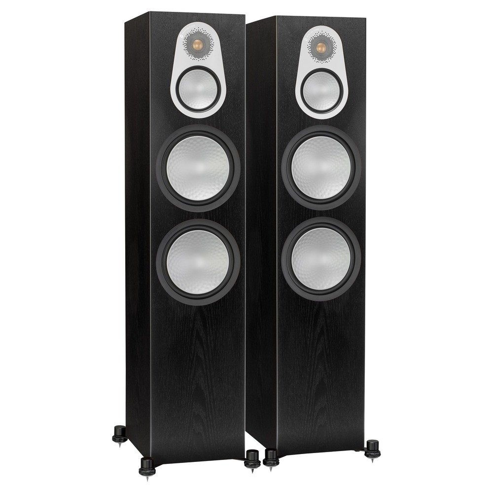 Колонка напольная Monitor Audio Silver 500 Black Oak