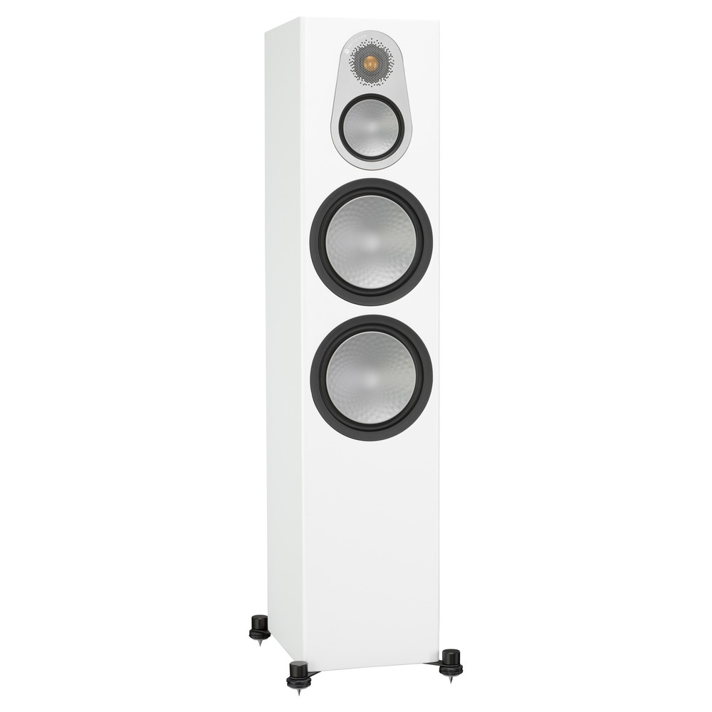 Колонка напольная Monitor Audio Silver 500 Satin White