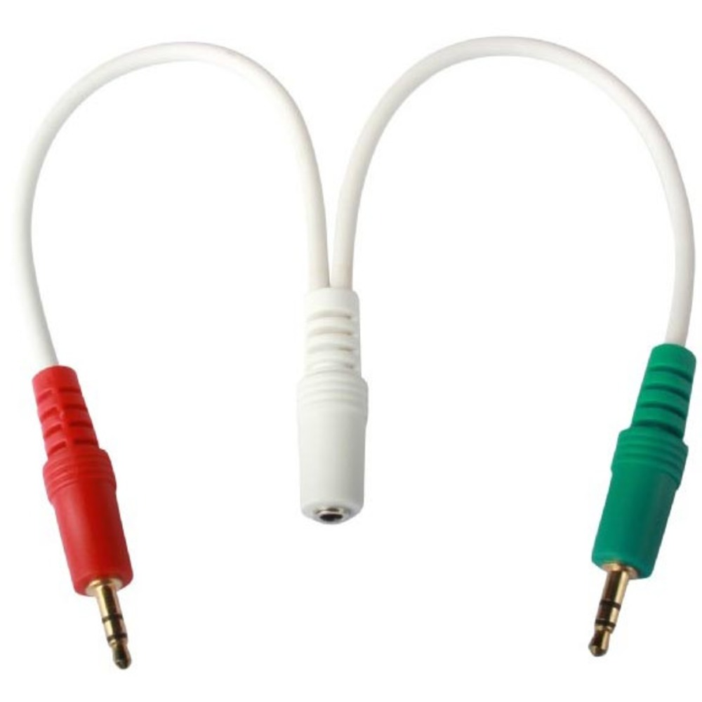 Аудиокабель-переходник Cablexpert CCA-418W
