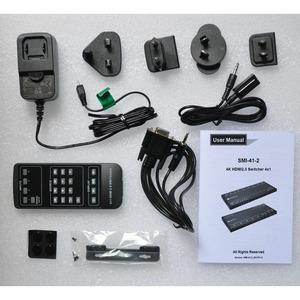 Коммутатор 4x1 HDMI 2.0 Digis SMI-41-2