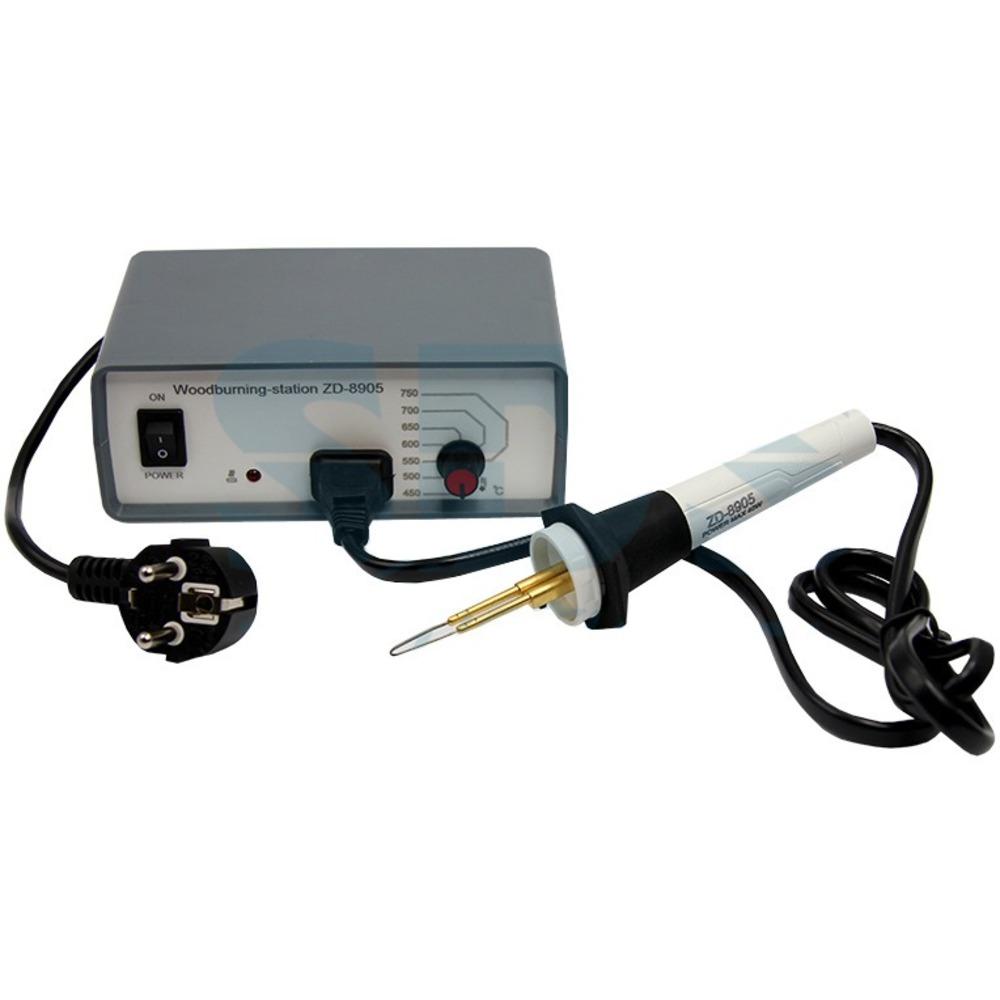 Паяльная станция Rexant 12-0142 выжигательный прибор с функцией термоконтроля (1 штука)