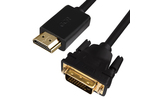 Кабель HDMI-DVI Greenconnect GCR-HD2DVI1 0.5m