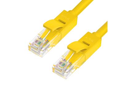 Кабель витая пара патч-корд Greenconnect GCR-LNC02 0.1m