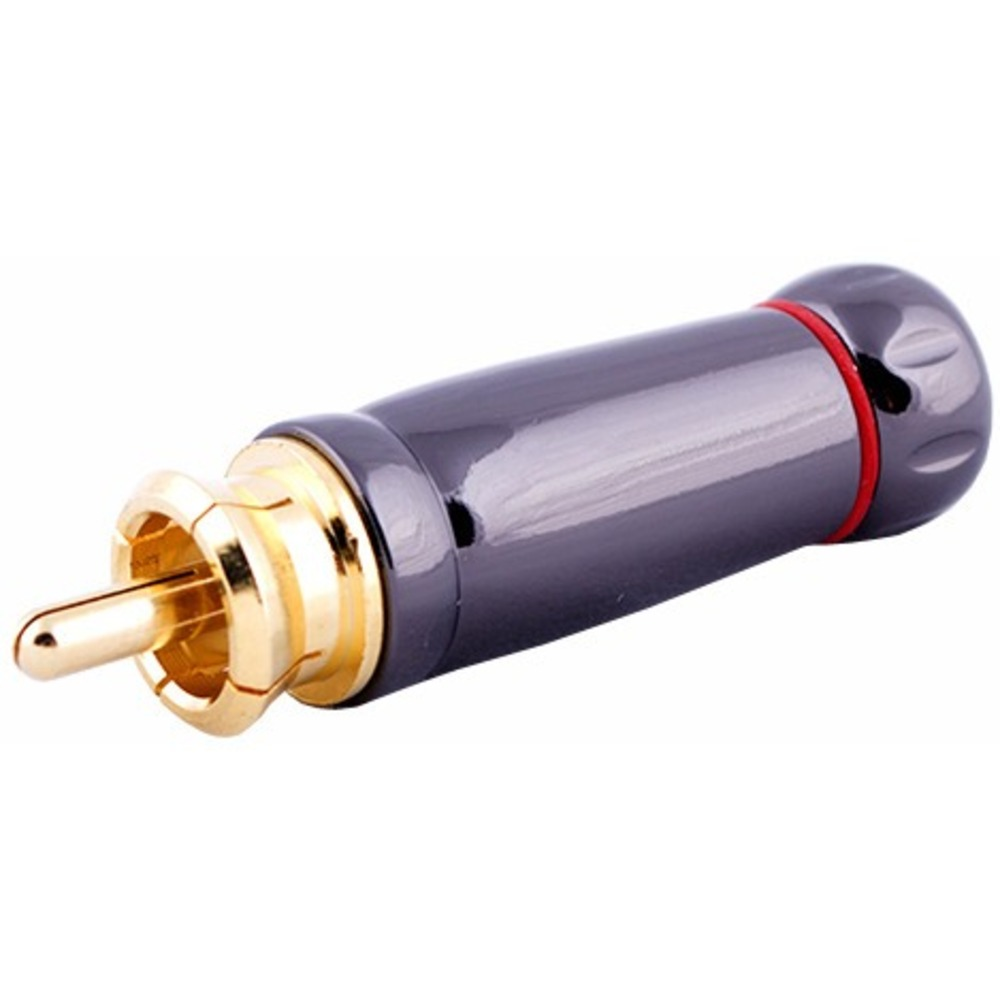 Разъем RCA (Папа) MT Power 89507002 Diamond RCA Gold Connector