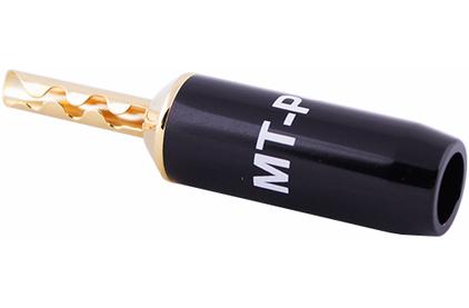 Разъем Банана MT Power 89507006 Diamond Screw Banana Gold Connector