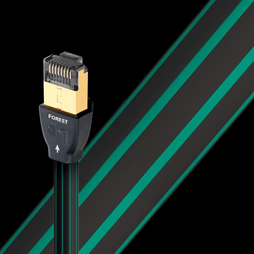 Кабель витая пара патч-корд Audioquest Forest RJ/E Ethernet 0.75m