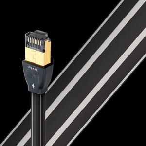 Кабель витая пара патч-корд Audioquest Pearl RJ/E Ethernet 3.0m