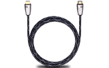Кабель HDMI - HDMI Oehlbach 124 Easy Connect Steel HDMI 1.5m