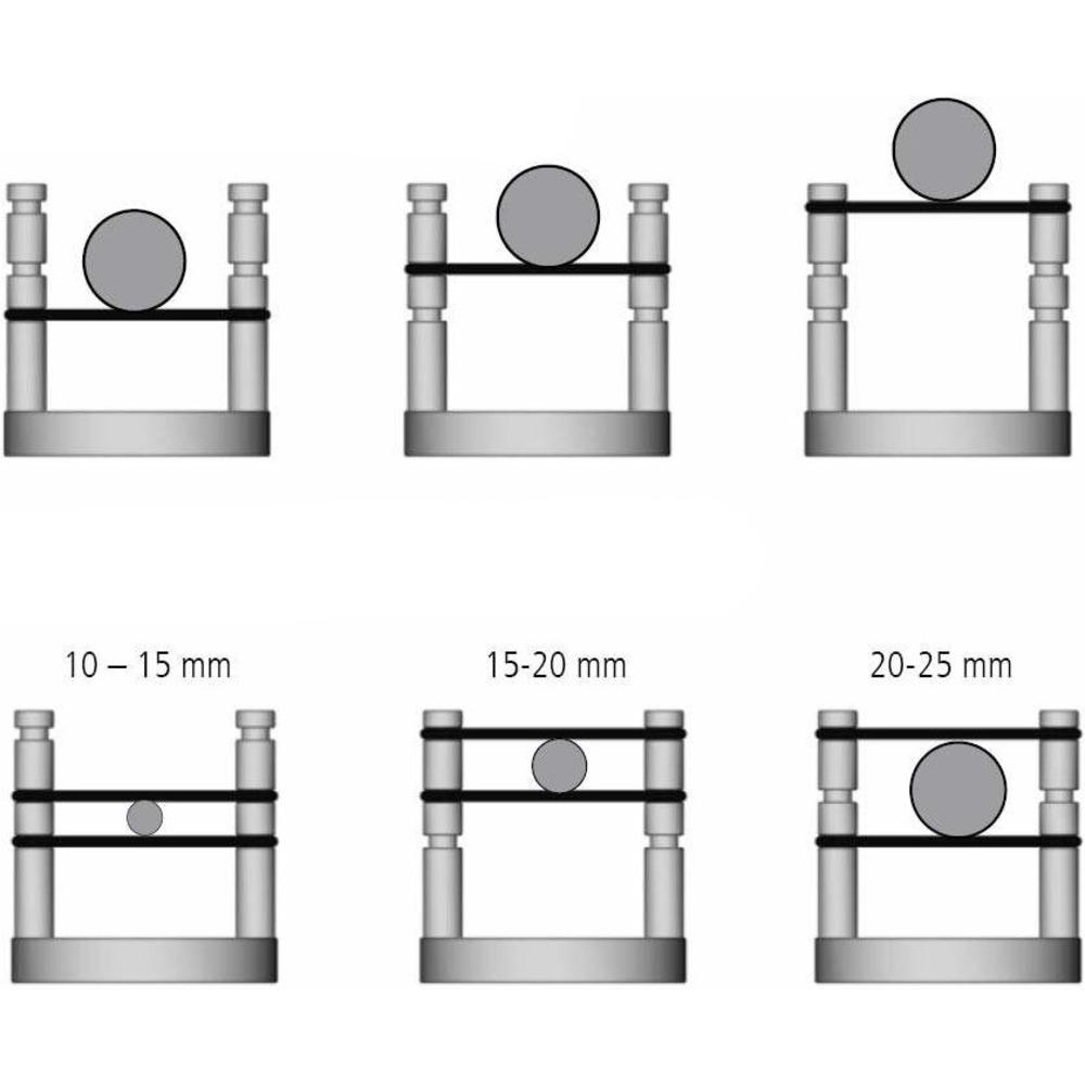 Подставка для кабеля Inakustik 00719222 Referenz Cable Base Set of 6