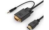 HDMI-VGA кабель Cablexpert A-HDMI-VGA-03-6 1.8m