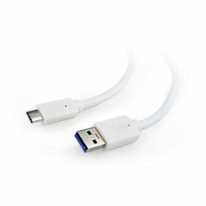 USB Type C кабель Cablexpert CCP-USB3-AMCM-1M-W 1.0m