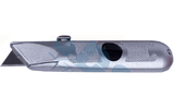 Нож канцелярский Rexant 12-4908 с трапециевидным выдвижным лезвием