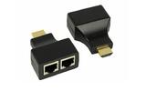 Передача по витой паре HDMI Rexant 17-6916 HDMI удлинитель (8p8c)