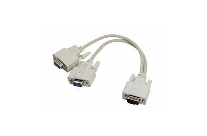 Переходник VGA - VGA Rexant 17-6834 шт. VGA - 2гн. VGA