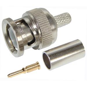 Разъем BNC (Папа) Rexant 05-3001 штекер BNC RG-58 обжим (01-001A)