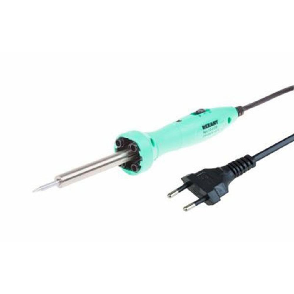 Паяльник Rexant 12-0138 долговечное жало 220В/ 40Вт LED подсветка