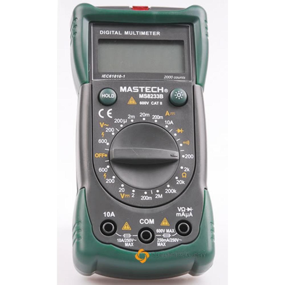 Мультиметр MASTECH 13-2016 Универсальный мультиметр MS8233B