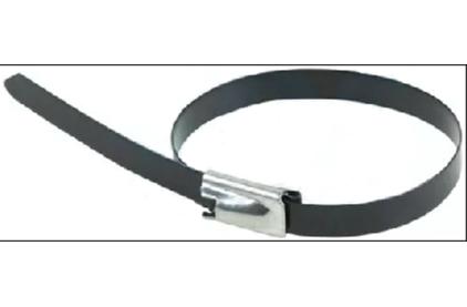 Хомут (кабельная стяжка) Rexant 07-0158-5 стальной с полимерным покрытием 4.6 х 152мм (50 штук)