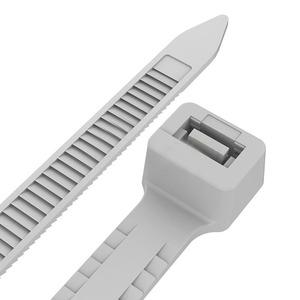 Хомут нейлоновый (кабельная стяжка) Rexant 67-0250-5 Тройной замок 4.8 х 250мм белый (100 штук)
