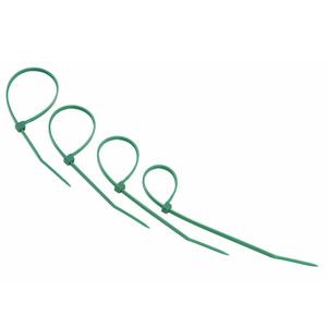Хомут нейлоновый (кабельная стяжка) Rexant 07-0153-25 зеленый 150 х 2.5 мм (25 штук)