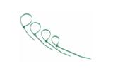 Хомут нейлоновый (кабельная стяжка) Rexant 07-0203-25 зеленый 200 х 3.6 мм (25 штук)