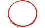 Протяжка кабельная Rexant 47-1010 стеклопруток, d=3,5мм, 10м КРАСНАЯ
