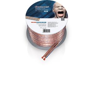 Кабель акустический на катушке Oehlbach 301 Speaker Wire SP-40 Transparent 10m