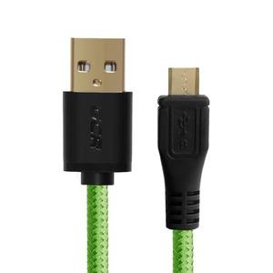 Кабель USB 2.0 Тип A - B micro Greenconnect GCR-UA12MCB6-BB2S-G 0.15m