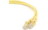 Патч-корд UTP Cablexpert PP12-0.25M/Y 0.25m