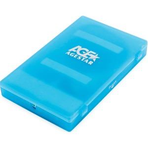 "USB 2.0 Внешний корпус 2.5"" SATA AgeStar SUBCP1 (BLUE)"