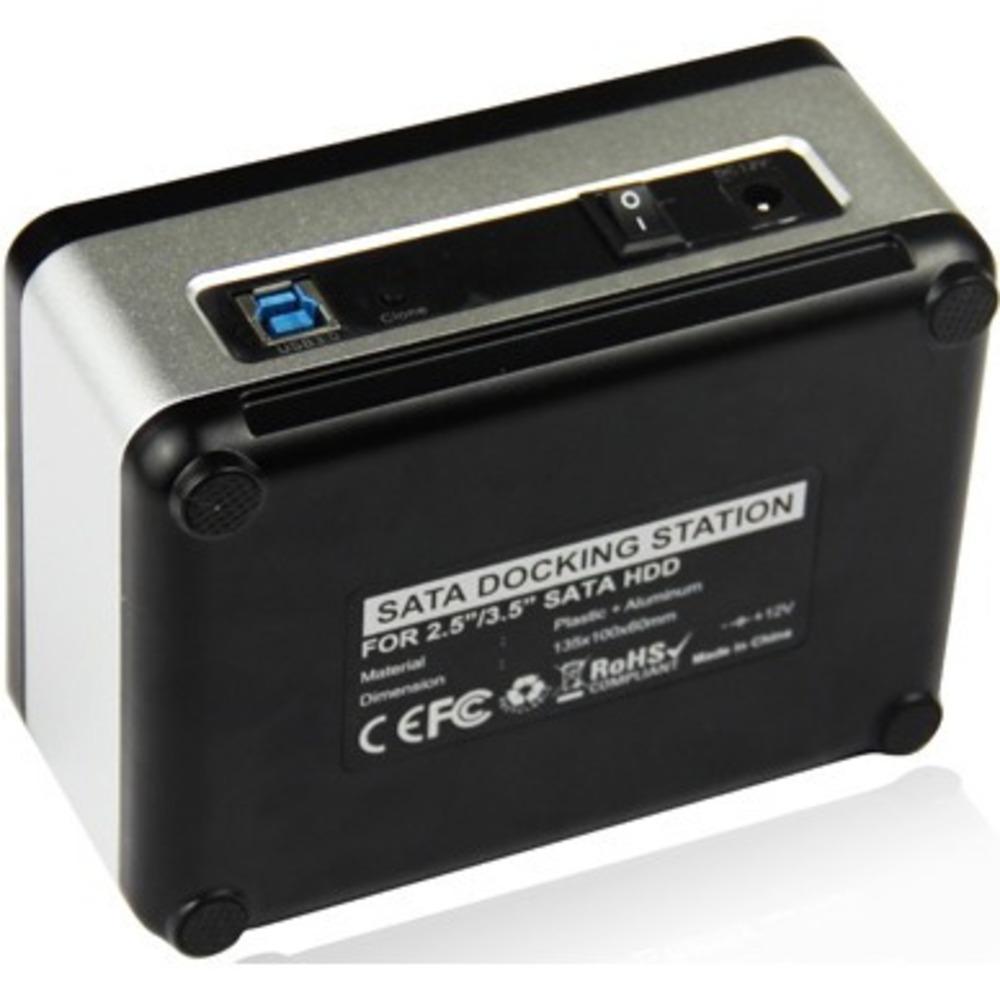 "USB 3.0 Докстанция 2x2,5""/3,5"" SATAIII AgeStar 3UBT8 (SILVER)"